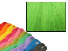CYBERLOXSHOP PHANTASIA KANEKALON JUMBO BRAID PERIDOT GREEN HAIR DREADS