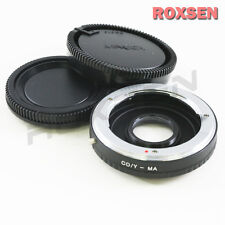 Contax Yashica C/Y Lens To Sony Minolta Alpha MA Optic Adapter A37 A57 A77 A580