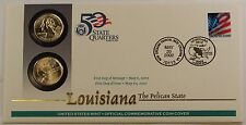 2002 Louisiana State Quarters, US Mint Issued Set, W/ P & D Mint Marks