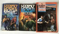 3 Hardy Boys PB Books Million Dollar Nightmare #103 Case Files 3, 4 Dixon