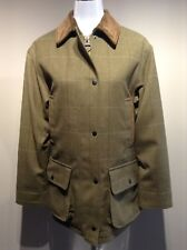 BARBOUR TWEED BERWICK women's 100% Wool jacket UK 10 US 6 EUR 36 FR 38 (pv:539€)
