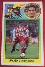MANJARIN BAJA SPORTING GIJÓN ESTE 93-94, 1993-94, SIN PEGAR, CARTÓN, LEER!!