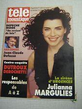 TELEMOUSTIQUE 3715 (9/4/97) JULIANNA MARGULIES DEPECHE MODE ISABELLE HUPPERT (2)
