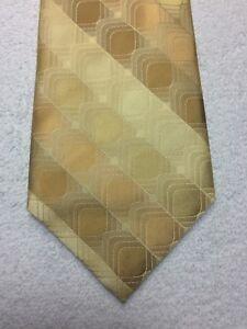ARROW MEN'S TIE SHADES OF GOLD 3.75 X 60