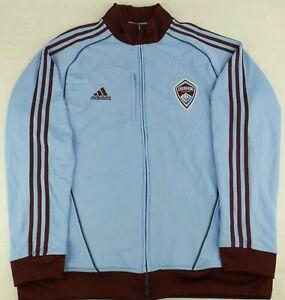 Vintage Adidas MLS Colorado Rapids Soccer Track Jacket Size Mens XL
