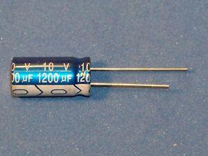 Elko, radial, 1200µF / 10V / 105°C, - Jb Capacitors - Menge nach Wunsch