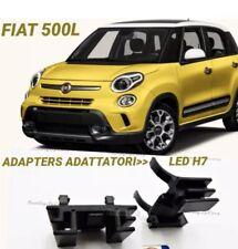 2X ADATTATORI Portalampada per FIAT 500L 2012> Supporto Montaggio Kit LED H7