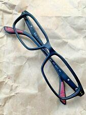 Ray Ban Eyeglasses RB 5277 2077 Black Rectangular Frame 54-17-140 @011