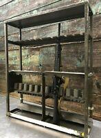 Military SMALL ARMS GUN RACK STORAGE *BROWNISH GREEN*Lockable Rifle Gun Army M12