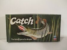 RARE VINTAGE CATCH THE FISHING GAME BY ARROW GAMES C.1960'S/1970'S COMPLETE VGC