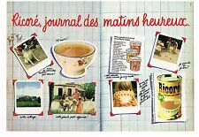 Publicité Advertising 1981 (2 pages) La Chicoré Ricoré
