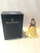 ROYAL DOULTON Snow White Figurine #724 Disney Princess Collection Ltd Edition