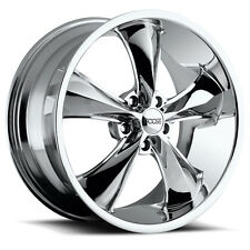 "4-NEW Foose F105 Legend 17x8 5x114.3/5x4.5"" +1mm Chrome Wheels Rims"