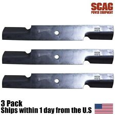 "(3) Genuine OEM Scag 18"" Cutter Mower Blades 482878 / Marbain / 52"" Deck"