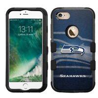 for Apple iPhone 8 Impact Armor Rugged Hard Hybrid Case Seattle Seahawks #NBG
