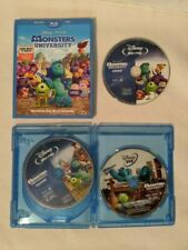 Monsters University [DVD] PLUS BLU RAY/3 DISC SET with Bonus Extras