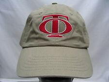 """TO"" LOGO - LIGHT BROWN - ADJUSTABLE STRAPBACK BALL CAP HAT!"