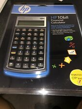 HP 10BII Financial Calculator. Brand New. Factory Sealed. With New Batteries