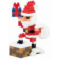 NANOBLOCK Santa Claus on the Chimney Nano Block Micro-Sized Building Blocks 127