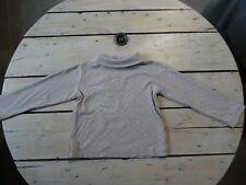 T-shirt col roulé gris imprimé rose et argenté Aurore DISNEY Taille 5 ans