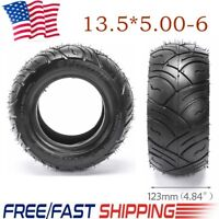 13x5.00-6 Tubeless Tire Tyre for Go Kart Quad Buggy Scooter ATV Riding Mower US
