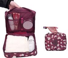 Travel Cosmetic Makeup Toiletry Case Bag Wash Organizer Storage Pouch Handbag