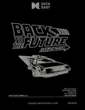 Back To The Future Pinball Game FULL Service & Repair Operations Manual Guide SC