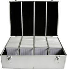 MediaRange DJ Case DJ Koffer silber für 1000 CD / DVD / BD Aufbewahrungs Koffer