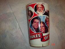 Dukes of Hazzard Plastic Cup Vtg 1981 Deka General Lee Warner Brothers TV Mug