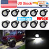 10x Eagle Eye Lamps LED Rock DRL Daytime Running Car Light Tail Backup White 12V