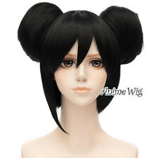 Love Live! Yazawa Niko Black Short 30CM Cosplay Anime Wig With Two Buns