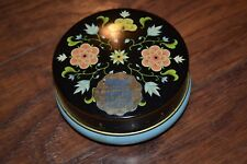C15- Riley's Toffee Floral Print Tin - Empty Tin