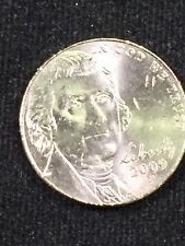 2009 - P Jefferson Nickel BRILLIANT UNCIRCULATED  Rare