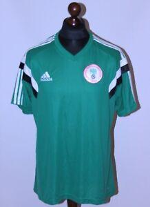 Nigeria National Team training player issue football shirt 13/14 Adidas Size XL