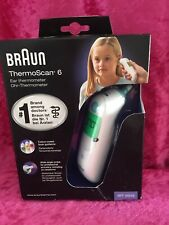 Braun IRT6520 Thermoscan Ear Thermometer - White