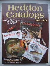 Heddon Catalogs 1902-1953 Angeln Fischen Anglerkatalog Katalog Angelsport