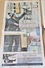 2-9-18 Philadelphia Eagles Super Bowl Parade Philly Daily Local Newspaper