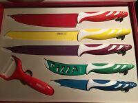 Messer Set Swiss Line Schweiz ❤️ 6 Teile Im Karton ❤️ Neu