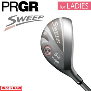 for Ladies Yokohama PRGR Golf Japan SWEEP Utility Hybrid Graphite M-30 L 2021c