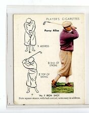 (Jc6429-100)  PLAYERS C.I.ISSUE,GOLF,PERCY ALLISS, NO 1 IRON SHOT,1939,#2