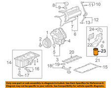 Cadillac GM OEM 06-09 STS Engine-Oil Filter 89017527