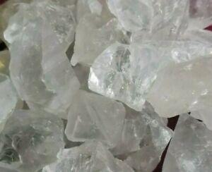 Quarzo Ialino PURO NATURALE Cristallo di Rocca Grezzo Cristalloterapia CHAKRA