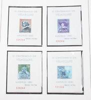 Spanien 1961/84 postfrisch komplett in 2 Safe Falzlosalben