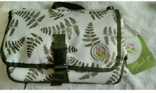 Kiducci Green Leaf Baby Diaper Fold Up Portable Changing Pad Brand (Brown) New