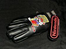 NEW NWT 1989 Nintendo Super Mario Bros Black Gloves Rare