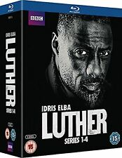 Luther Complete Collection Series 1 - 4 Blu Ray Box set All Season 1 2 3 4 UK R2