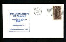 US Postal History Airmail CAM AM 94 Bridgeport CT 1967 AAMC #94N73