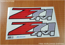 Z71 4x4 Off Road Chevy Chevrolet LAMINATED GMC Z 71 Rear Quarter Decals Stickers