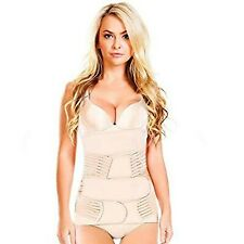 Azmed 3 in 1 Postpartum Belly Wrap Girdles for Women, One-Size, Beige One Size