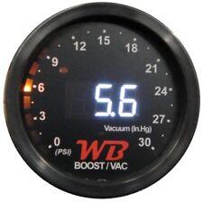 APSX B2 Digital Boost Display Gauge (White)